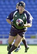 Reading, Berkshire, 5th October 2003, Zurich Premiership Rugby  London Irish v Leeds,  Madejski Stadium, <br /> [Mandatory Credit; Peter Spurrier/Intersport Images]2003/04 Zurich Premiership Rugby: London Irish v Leeds<br /> Naka Drotske