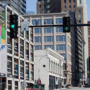 Traffic on Grand Avenue, Kansas City Missouri - Taken for Rhythm Engineering.