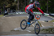 #22 (SMULDERS Merel) NED during round 3 of the 2017 UCI BMX  Supercross World Cup in Zolder, Belgium,