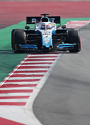 February 28, 2019 - Barcelona, Catalonia, Spain - the Williams of George Russell during the Formula 1 test in Barcelona, on 28th February 2019, in Barcelona, Spain. (Credit Image: © Joan Valls/NurPhoto via ZUMA Press)