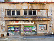 Club Hermes, Lipscani, Bucharest in 2011. During Ceauşescu's communist era this was the place where the Syndicates Meetings were held