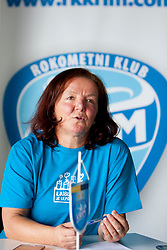Marta Bon during practice session of RK Krim Mercator on August 6, 2014 in SRC Stozice, Ljubljana, Slovenia. Photo by Urban Urbanc / Sportida
