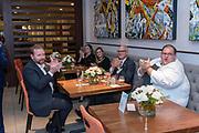 The Hilton Garden Inn Dinner by Design event at Hilton Garden Inn Louisville Mall of St. Matthews, Thursday Dec. 6, 2018 in Louisville, Ky. (Photo by Brian Bohannon)