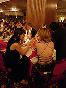 Susy Stephens and Nicola Owers. White Knights Ball, Grosvenor House. Park Lane. London. 6  January 2006. ONE TIME USE ONLY - DO NOT ARCHIVE  © Copyright Photograph by Dafydd Jones 66 Stockwell Park Rd. London SW9 0DA Tel 020 7733 0108 www.dafjones.com