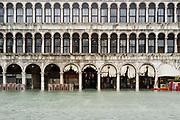 Piazza San Marco. Emergenza acqua alta a Venezia il 19 novembre 2019. Christian Mantuano / OneShot