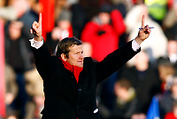 Mark Cooper Manager of Kettering Town son of Terry Cooper.  Kettering Town Vs Fulham at  A-Link Arena Stadium<br /> FA Cup 4th Round 24/01/2009. <br /> Credit Colorsport / Kieran Galvin