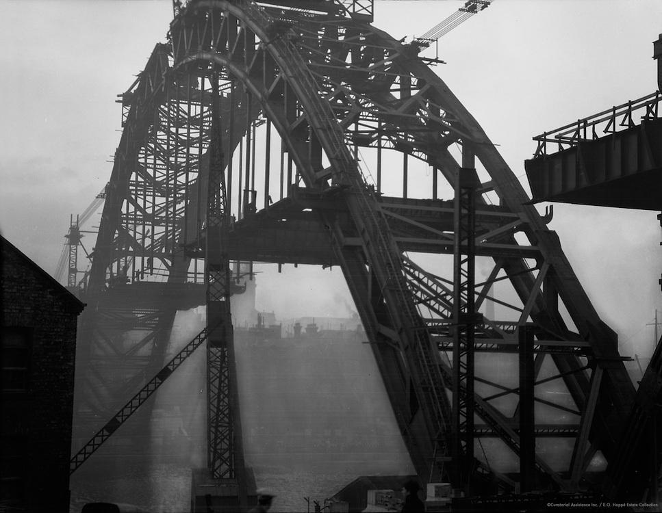 New High Level Bridge, Northumberland, Newcastle on Tyne, England, 1925