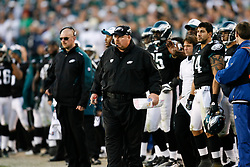 Philadelphia Eagles Head Coach Andy Reid during the NFL game between the Washington Redskins and the Philadelphia Eagles on November 29th 2009. The Eagles won 27-24 at Lincoln Financial Field in Philadelphia, Pennsylvania. (Photo By Brian Garfinkel)