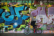The undercroft of the foyer building of the Queen Elizabeth Hall on the Southbank has been popular with BMX since the early 70's and it is widely acknowledged to be London's most distinctive and popular skateboarding area. The area is used by skateboarders, BMXers, graffiti artists, taggers, photographers, buskers, and performance artists, among others. Although this informal activity, social and arts scene is a distinctive feature of the Southbank Centre site, it was proposed that the area would be redeveloped. However a statement from the Prime Minister's office may save the undercroft for these uses.