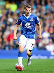 Everton's Seamus Coleman  - Mandatory byline: Matt McNulty/JMP - 07966386802 - 12/09/2015 - FOOTBALL - Goodison Park -Everton,England - Everton v Chelsea - Barclays Premier League