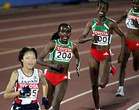 Friidrett, 6. august 2005, VM Helsinki, <br /> World Championship in Athletics<br /> 10 000 metres,  Tirunesh Dibaba, ETH, winner