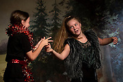 """The Chelsea Funnery's performance of """"A Midsummer Night's Dream"""" in Chelsea, Vt., on July 28, 2018. (Photo by Geoff Hansen)"""