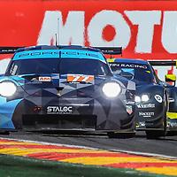 #77, Dempsey Proton Racing, Porsche 911 RSR, LMGTE Am, driven by: Christian Ried, Julien Andlauer, Matt Campbell, FIA WEC 6hrs of Spa 2018, 05/05/2018,