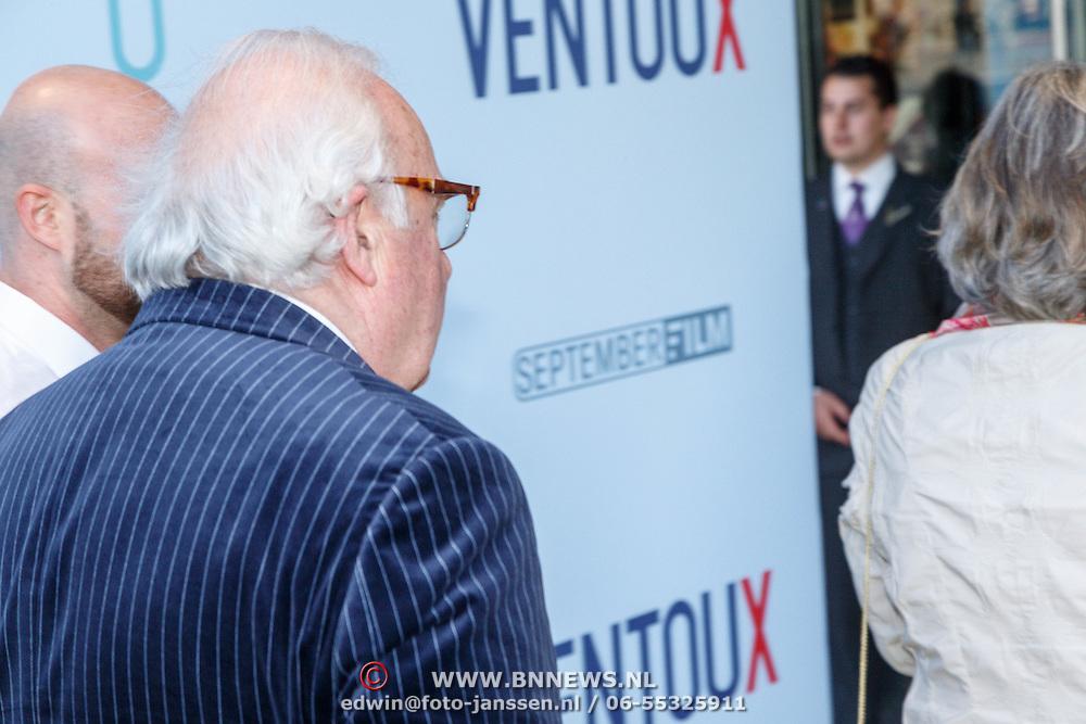 NLD/Utrecht/20150512 - Filmpremiere Ventoux, Mart Smeets had er weer eens geen zin in