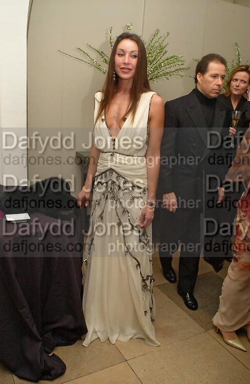Tamara Mellon. Dinner to unveil the Van Cleef & Arpels jewellery collection 'Couture' with fashion by Anouska Hempel Couture. The Banqueting House, Whitehall Palace, London on 8th March 2005.ONE TIME USE ONLY - DO NOT ARCHIVE  © Copyright Photograph by Dafydd Jones 66 Stockwell Park Rd. London SW9 0DA Tel 020 7733 0108 www.dafjones.com