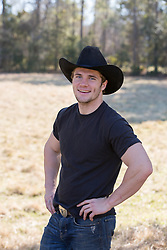 good looking smiling cowboy