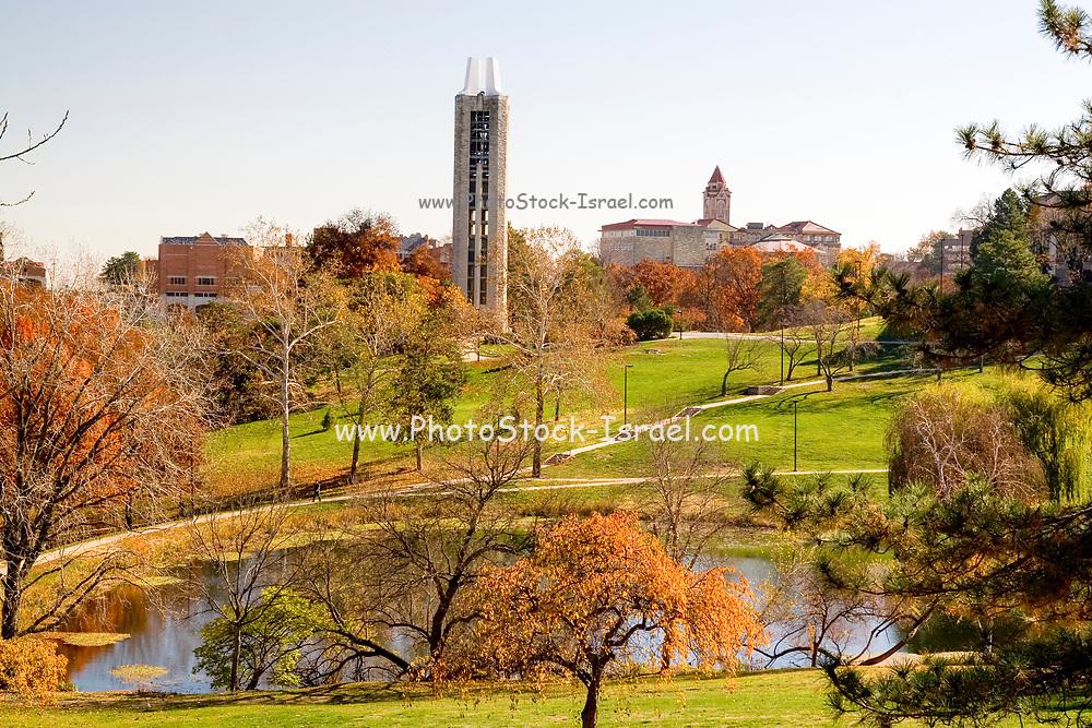 Autumn at University of Kansas (Lawrence, KS). Kansas KS USA.