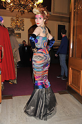 PALOMA FAITH attends the premier of 2012 Cirque du Soleil's Totem at the Royal Albert Hall, London on 5th January 2012,