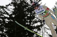 Hopp<br /> FIS World Cup<br /> Innsbruck Østerrike<br /> 03.01.2013<br /> Foto: Gepa/Digitalsport<br /> NORWAY ONLY<br /> <br /> FIS Weltcup der Herren, Vierschanzen-Tournee, Training und Qualifikation. Bild zeigt Tom Hilde (NOR).