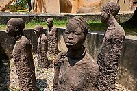 Tanzanie, archipel de Zanzibar, ile de Unguja (Zanzibar), ville de Zanzibar, quartier Stone Town classe patrimoine mondial UNESCO, momument du marché aux esclaves // Tanzania, Zanzibar island, Unguja, Stone Town, unesco world heritage, old slaves market