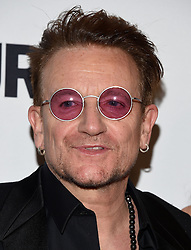 November 14, 2016 - Hollywood, California, U.S. - Bono arrives for the Glamour Women of the Year Awards 2016 at the Neuehouse Hollywood. (Credit Image: © Lisa O'Connor via ZUMA Wire)