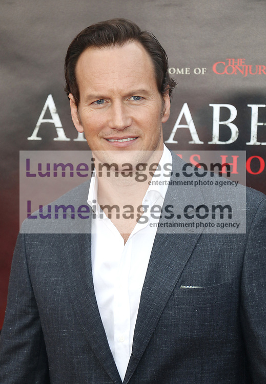 Patrick Wilson at the Los Angeles premiere of 'Annabelle Comes Home' held at the Regency Village Theatre in Westwood, USA on June 20, 2019.