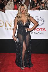 Laverne Cox at The 49th NAACP Image Awards held at the Pasadena Civic Auditorium on January 15, 2018 in Pasadena, CA, USA (Photo by Sthanlee B. Mirador/Sipa USA)