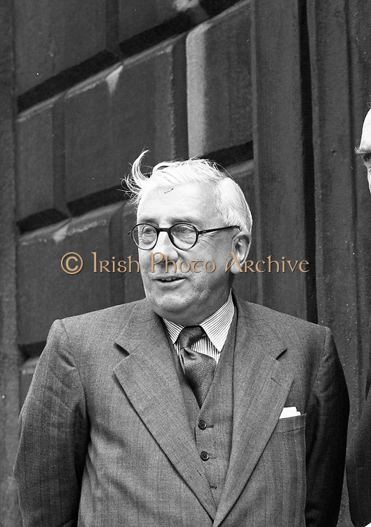 Michael Joseph Hayes (1 December 1889 – 11 July 1976) was an Irish Fine Gael politician who served as Ceann Comhairle of Dáil Éireann from 1922 to 1932, Minister for Foreign Affairs from August 1922 to September 1922 and Minister for Education January 1922 to August 1922. He served as a Teachta Dála (TD) for the National University of Ireland constituency from 1921 to 1933. He was a Senator from 1938 to 1965.<br /> Hayes was born in Dublin, and educated at the Synge Street CBS and at University College Dublin (UCD). He later became a lecturer in French at the University. In 1913, he joined the Irish Volunteers and fought in Jacob's Factory during the Easter Rising in 1916. He escaped capture but was arrested in 1920 and interned at Ballykinlar. He was first elected to Dáil Éireann as a Sinn Féin Teachta Dála (TD) for the National University of Ireland constituency at the 1921 general election. At the 1922 general election he was elected as a Pro-Treaty Sinn Féin TD.[3] He served as Minister for Education from January to September 1922, as part of the Dail Aireacht ministry as opposed to the Provisional Government. He had special responsibility for secondary education. He was also acting Minister for Foreign Affairs from August to September 1922. He supported the Anglo-Irish Treaty during the crucial debates in 1922. That same year he was elected Ceann Comhairle of the first Dáil of the Irish Free State. He held that post for ten years until 1932.<br /> At the 1923 general election, he was elected as a Cumann na nGaedheal TD for two constituencies; Dublin South and National University of Ireland. He resigned his seat in Dublin South following the election.<br /> Hayes lost his Dáil seat at the 1933 general election, but was elected to Seanad Éireann in 1938 for Fine Gael. He remained a Senator until 1965, acting as leader of government and opposition there.<br /> Hayes became Professor of Irish at University College Dublin in 1951.