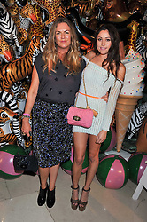 Left to right, EMMA HILL and ELIZA DOOLITTLE at the Mulberry Spring/Summer 2012 - London Fashion Week afterparty held at Claridge's, Brook Street, London on 18th September 2011.