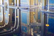 Indoor pool at Hearst Castle, near San Simeon, California.