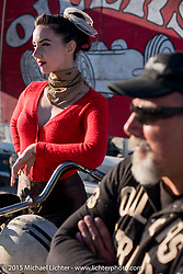 At the starting line during the Race of Gentlemen. Wildwood, NJ, USA. October 11, 2015.  Photography ©2015 Michael Lichter.