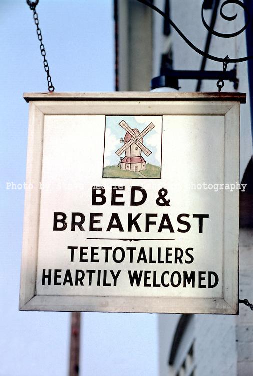 Pub Signs, The Windmill, Weald, Kent, Britain