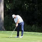 Angel Cabrera, Argentina, in action during the fourth round of theThe Barclays Golf Tournament at The Ridgewood Country Club, Paramus, New Jersey, USA. 24th August 2014. Photo Tim Clayton