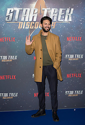 Shazad Latif attends the Star Trek: Discovery special fan screening photocall at Millbank Tower on Sunday, 5th November..Picture dated: Sunday November 5, 2017. Photo credit should read: Isabel Infantes / EMPICS Entertainment.