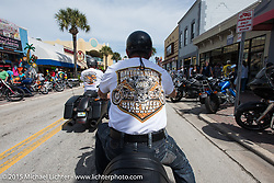 Daytona Beach Bike Week 2015. FL, USA. March 13, 2015.  Photography ©2015 Michael Lichter.