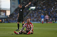 Football - 2018 / 2019 EFL Sky Bet League One - Play-Off Semi-Final,Second Leg: Portsmouth (0) vs. Sunderland (1)<br /> <br /> Chris Maguire of Sunderland rues a missed chance during the second leg of the League One play off semi final at Fratton Park <br /> <br /> COLORSPORT/SHAUN BOGGUST