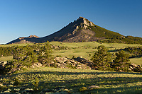 Eagle Peak is a 9,167' high peak in the Laramie Mountains.