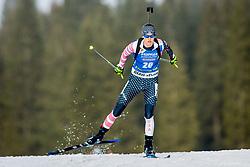 Clare Egan (USA) during Women 15km Individual at day 5 of IBU Biathlon World Cup 2018/19 Pokljuka, on December 6, 2018 in Rudno polje, Pokljuka, Pokljuka, Slovenia. Photo by Ziga Zupan / Sportida