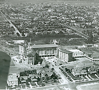 1923 Ambassador Hotel under construction