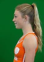 DEN BOSCH -  LAURA NUNNINK .  . Nederlands Hockeyteam  voor nieuwe platform Hockey.nl.    FOTO KOEN SUYK