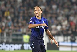 October 14, 2017 - Turin, Piedmont, Italy - Lucas LEIVA PEZZINI (SS Lazio) during the Serie A football match between Juventus FC and SS Lazio at Olympic Allianz Stadium on 14 October, 2017 in Turin, Italy. (Credit Image: © Massimiliano Ferraro/NurPhoto via ZUMA Press)