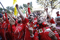 May 28, 2017 - Monte Carlo, Monaco - Motorsports: FIA Formula One World Championship 2017, Grand Prix of Monaco, .mechanic of Scuderia Ferrari  (Credit Image: © Hoch Zwei via ZUMA Wire)