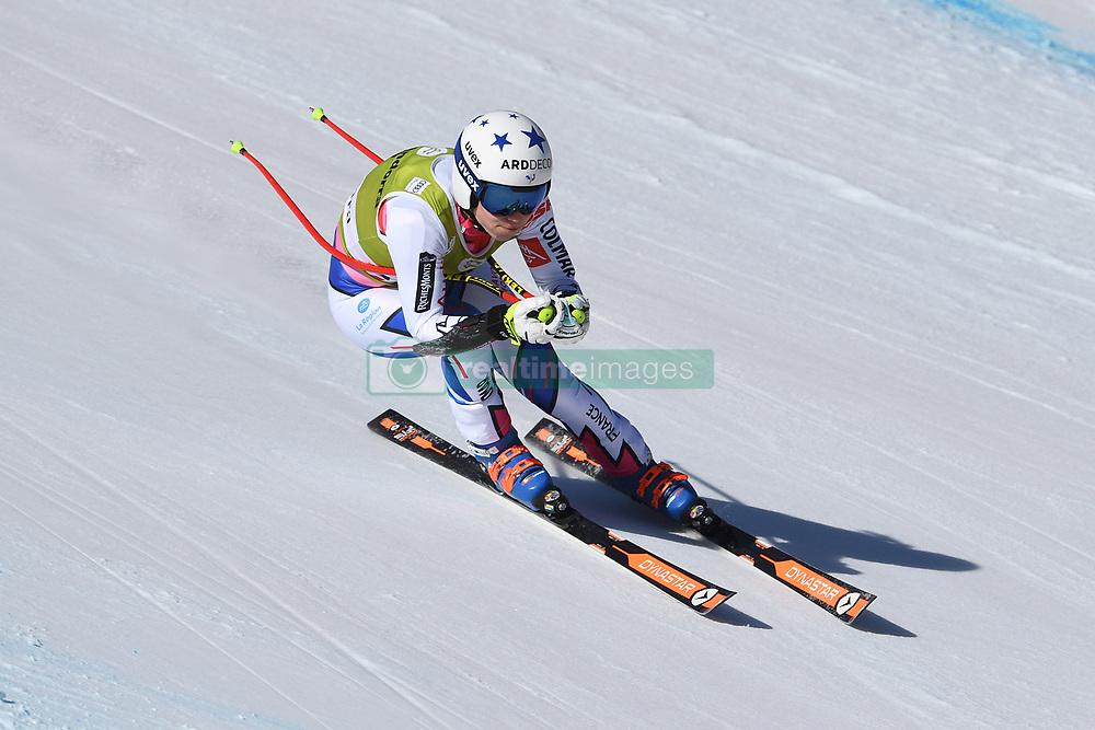 March 14, 2019 - ANDORRA - Romane Miradoli (FRA) during Ladies Super Giant of Audi FIS Ski World Cup Finals 18/19 on March 14, 2019 in Grandvalira Soldeu/El Tarter, Andorra. (Credit Image: © AFP7 via ZUMA Wire)
