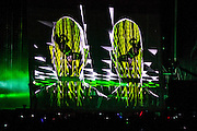 Pet Shop Boys band performs live concert at the SOS festival- Murcia