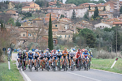 Lead group head to the hills - 2016 Strade Bianche - Elite Women, a 121km road race from Siena to Piazza del Campo on March 5, 2016 in Tuscany, Italy.