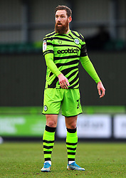 Scott Wagstaff of Forest Green Rovers- Mandatory by-line: Nizaam Jones/JMP - 16/01/2021 - FOOTBALL - innocent New Lawn Stadium - Nailsworth, England - Forest Green Rovers v Port Vale - Sky Bet League Two