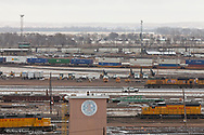 Union Pacific Bailey yard is the world's largest train yard located in North Platte, Nebraska, USA