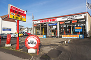 Checkpoint exhaust, tyre and battery specialists, Devizes, Wiltshire, England, UK