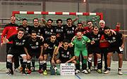 Futsal: Deutsche Meisterschaft 2016, Hamburg Panthers - FSG Schmelz-Limbach, Hamburg, 12.03.2016<br /> <br /> © Torsten Helmke
