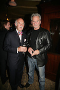Anton Mosimann and Trevor Eve, PJ's Annual Polo Party . Annual Pre-Polo party that celebrates the start of the 2007 Polo season.  PJ's Bar & Grill, 52 Fulham Road, London, SW3. 14 May 2007. <br />  -DO NOT ARCHIVE-© Copyright Photograph by Dafydd Jones. 248 Clapham Rd. London SW9 0PZ. Tel 0207 820 0771. www.dafjones.com.